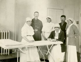 [Operating Room East with Ada Janet Ross - far right]
