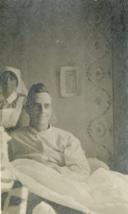 [Unidentified soldier patient.]