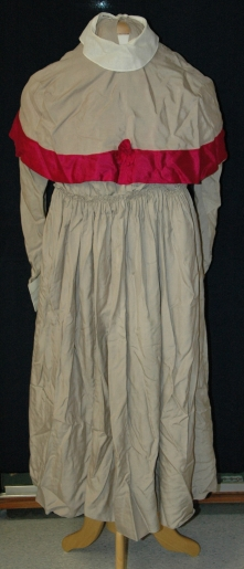 Queen Alexandra's Imperial Military Nursing Service Reserve Uniform belonging to Ruby Dickie.