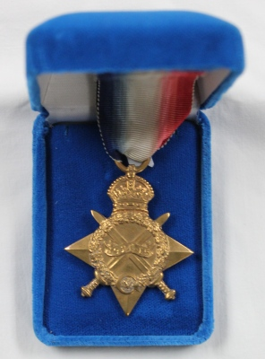 [1914-1915 Star awarded to Ada J. Ross]