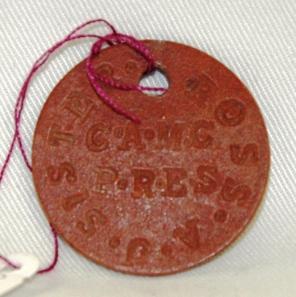 Ada J. Ross CAMC military tag.