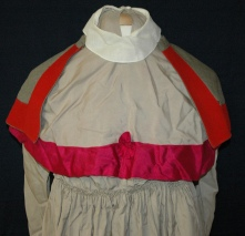 Queen Alexandra's Imperial Military Nursing Service Reserve Uniform with cape belonging to Ruby Dickie.