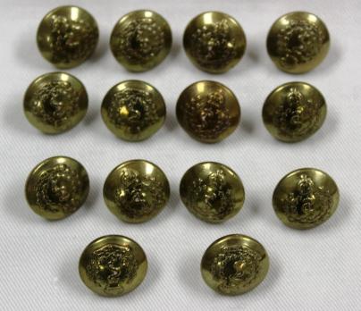 [CAMC brass buttons belonging to Margaret Grace McBean.]