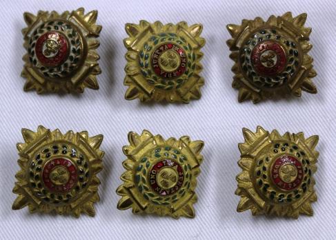 [CAMC epalaut buttons belonging to Margaret Grace McBean.]