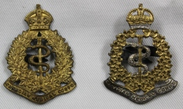 [CAMC uniform pins belonging to Margaret Grace McBean]
