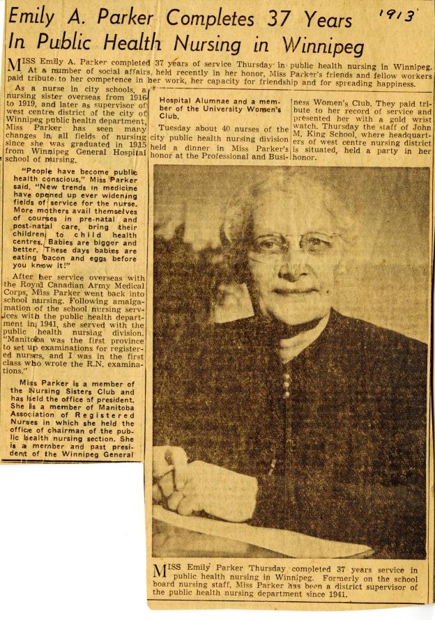 parker-emily_1913_newspaper-article-with-photo-retirement-as-public-health-nurse.jpg