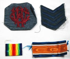 [Badges belonging to Theodora Paynter.]
