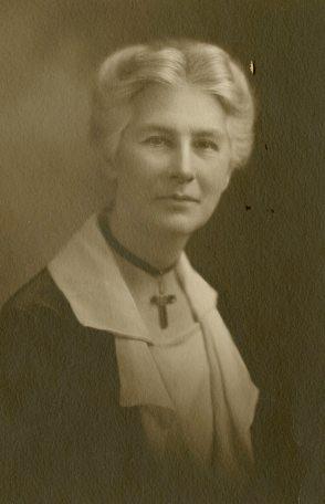Frederica Wilson, Superintendent of Nurses [Winnipeg General Hospital School of Nursing.]