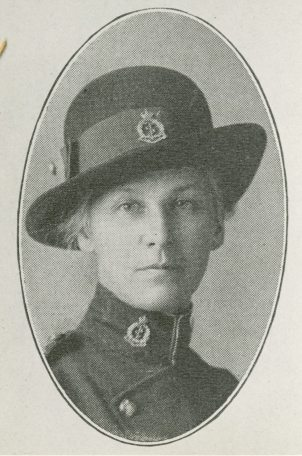 [Frederica Wilson, Canadian Army Medical Corps Portrait]
