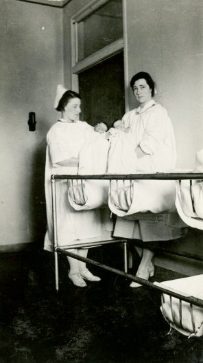 WGH Maternity Ward, ca. 1930s. HSC Archives/Museum 2002.3.23 F4_P2_022