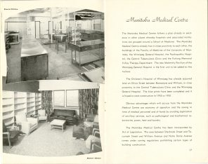 Safeguarding Motherhood Official Opening of Maternity Pavilion Booklet 1950 Page 16,17