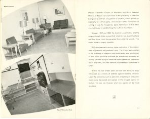 Safeguarding Motherhood Official Opening of Maternity Pavilion Booklet 1950 Page 20,21