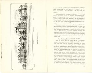 Safeguarding Motherhood Official Opening of Maternity Pavilion Booklet 1950 Page 24,25