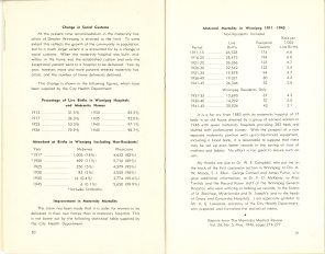 Safeguarding Motherhood Official Opening of Maternity Pavilion Booklet 1950 Page 30,31