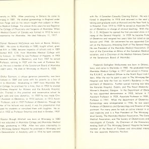 Safeguarding Motherhood Official Opening of Maternity Pavilion Booklet 1950 Page 40,41