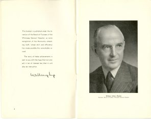Safeguarding Motherhood Official Opening of Maternity Pavilion Booklet 1950 Page 4,5