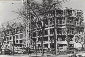 Maternity Pavilion under construction, 1949. HSC Archives/Museum 2016.09.001
