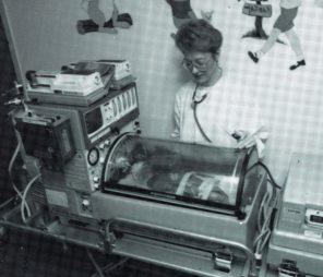 Neonatal Transport Unit, taken for promo poster, 2002. HSC Archives/Museum 2018_029