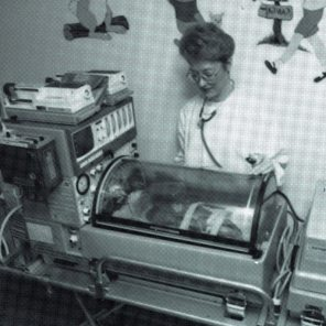 Neonatal Transport Unit, taken for promo poster, 2002. HSC Archives/Museum 2018_029