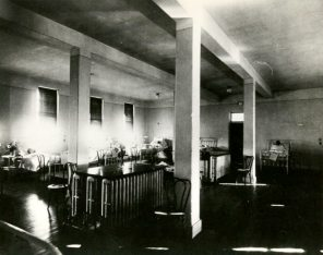 Women's Wards A & B interior, 1888-1903. HSC Archives/Museum 2018_056_013