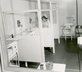Premature Nursery ca. 1950. HSC Archives/Museum 999.4.11 F4_P2_023