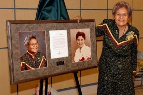 Anne Thomas Callahan, 2007. HSC Archives/Museum