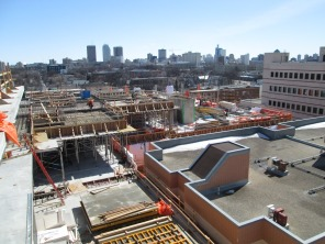 Construction of new HSC Women's Hospital, 11 April 2014. HSC Communications