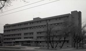 Exterior Maternity Pavilion, October 1962. HSC Archives/Museum