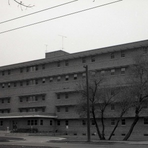 Exterior Maternity Pavilion, October 1962. HSC Archives/Museum