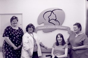 Women's Family Birthplace, Women's Hospital, 2001. HSC Archives/Museum F3_P2_056