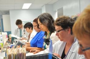 Ambulatory Care staff, 2009. HSC Communications