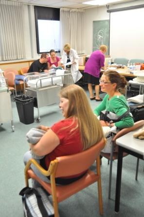 Breastfeeding Clinic, 2009. HSC Communications