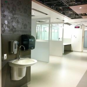 Construction of new HSC Women's Hosptial, Interior, 2018, Outpatient area. HSC Communication