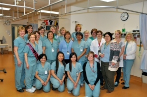 Women's OR and PACU, 2011. HSC Communications