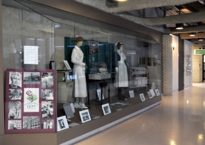 Curated display by the HSC Archives/Museum, December 2010. HSC Communications