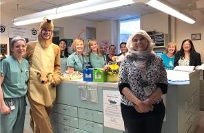 Kangaroo Care Challenge, 15 May 2018. HSC Communications