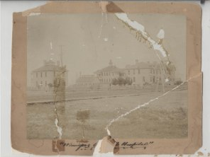 Maternity Hospital on left, 1900s, HSC Archives/Museum