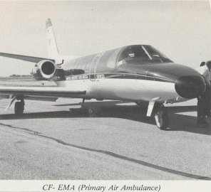 Primary Air Ambulance, 1980s. HSC Archives/Museum
