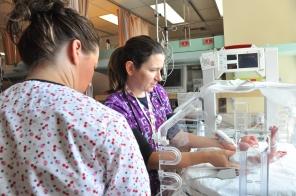 NICU Intermediate Care Nursery, Women's Hospital, 2009. HSC Communications